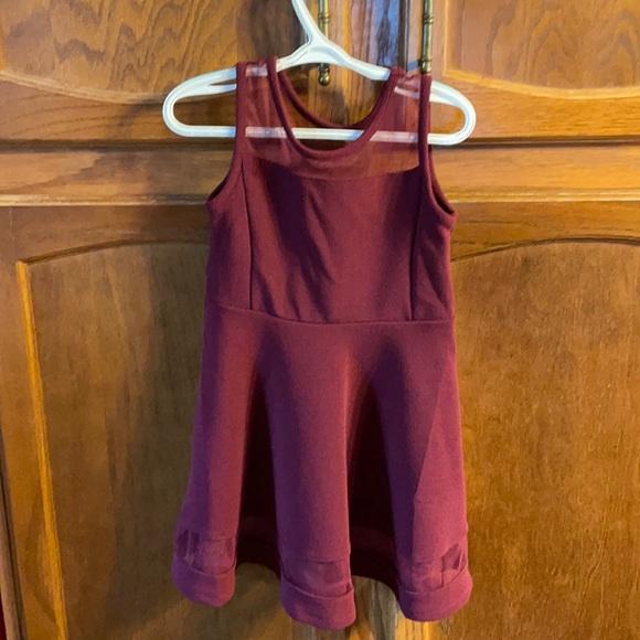 XS Maroon Children's Place Dress